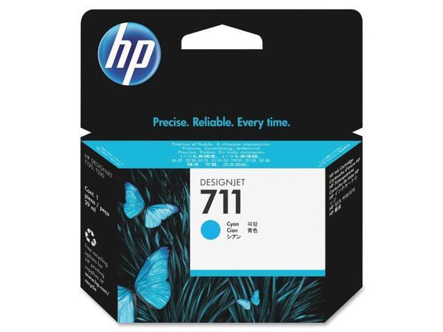 HP 711 (CZ130A) Cyan Original Ink Cartridge