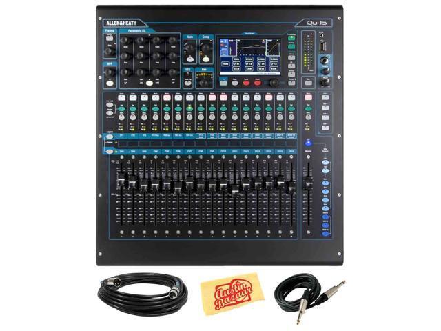 Allen Heath Zed Qu 16 16 Channel Digital Mixer With 16