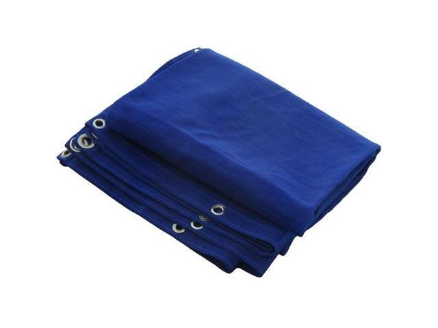 12 16 Canopy : Blue mesh tarp cover patio canopy shade new