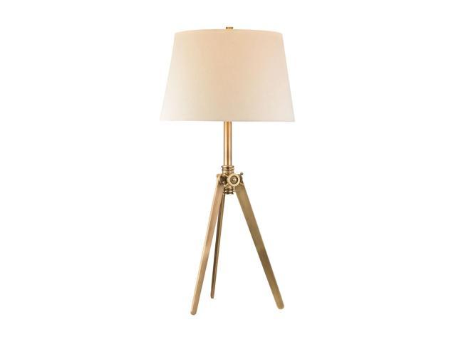 Dimond Brass Pointed Tripod Lamp D2846