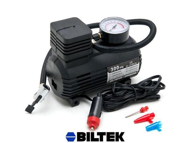 Biltek® NEW Portable Mini Air Compressor Electric Tire Inflator Pump 12 Volt Car 12V PSI