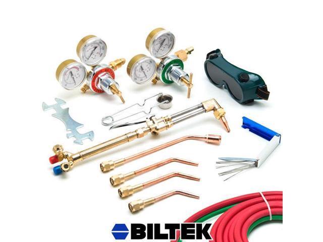 Biltek® Victor-Style Oxygen Acetylene Welding Cutting Kit Precision Brazing Soldering