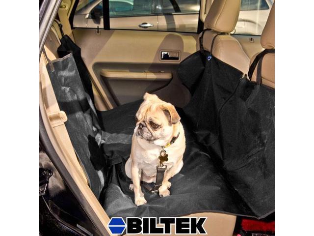 Biltek® Pet Dog Cat Rear Seat Car Auto Waterproof Hammock Blanket Cover Protector Black Rear Back Car Backseat Blanket Heavy Duty
