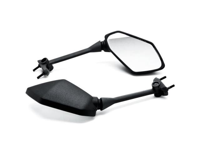 Krator Black Replacement Motorcycle Mirrors Aftermarket