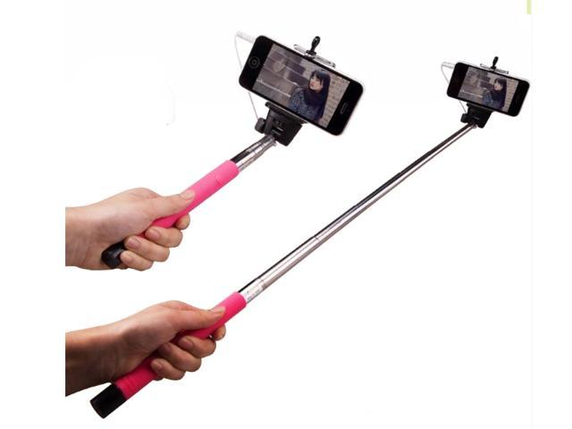 handheld selfie monopod audio cable wired selfie stick wired selfie monopod with high quality. Black Bedroom Furniture Sets. Home Design Ideas
