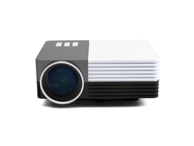Gm 50 mini led projector portable 480x320 multi media for Micro projector for ipad