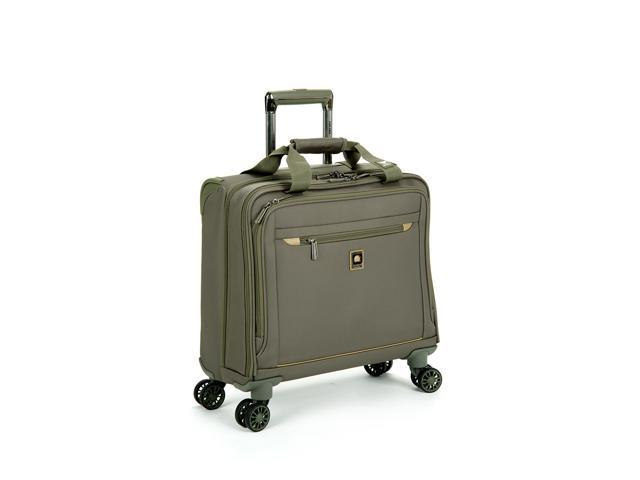 Delsey Helium X'Pert Lite 2.0 Luggage 17 inches Spinner Trolley Tote - Green Color
