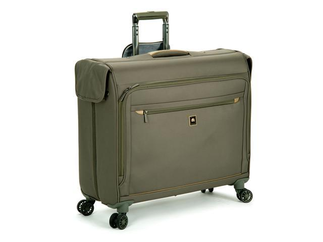 delsey helium x 39 pert lite 2 0 luggage 45 inches spinner trolley garment bag green color. Black Bedroom Furniture Sets. Home Design Ideas