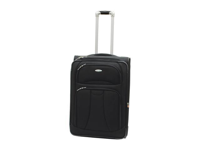 WestJet Navigator Luggage 26 inches Expandable Upright - Black Color