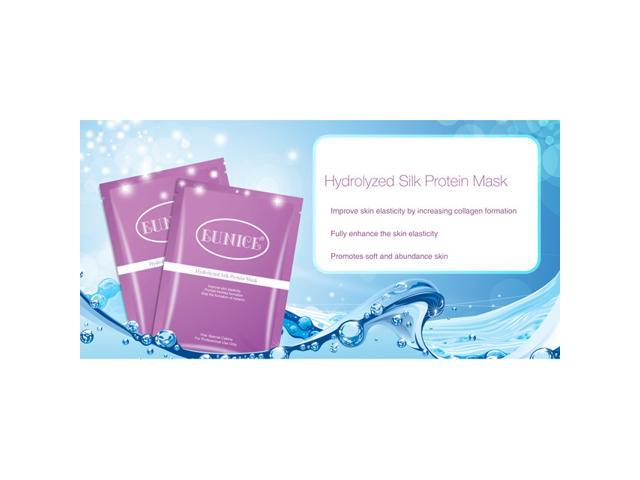 Eunice Hydrolyzed Silk Protein Mask - 5pcs - for all skin type