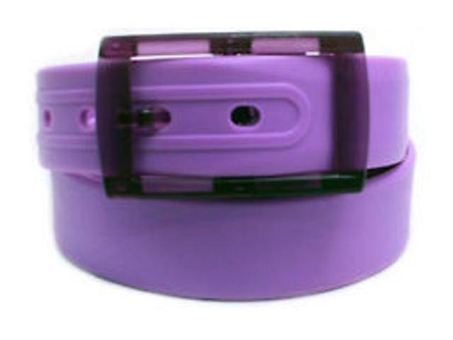 2 X Colorful Silicone Waist Belt - Purple Color