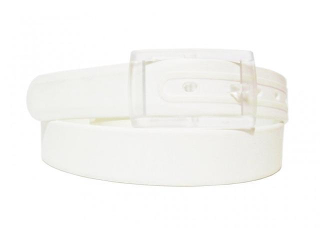 2 X Colorful Silicone Waist Belt - White Color