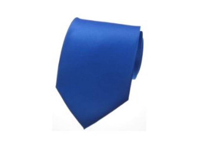 2 X Casual Stylish Slim Necktie (Skinny Tie) - Blue