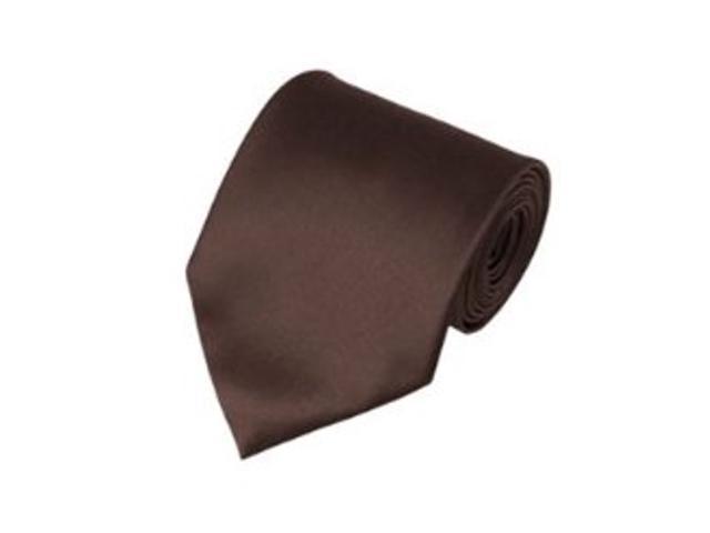 2 X Casual Stylish Slim Necktie (Skinny Tie) - Brown