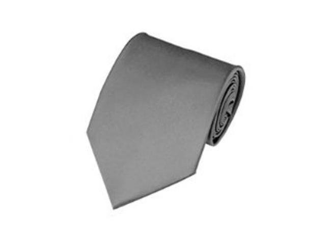 2 X Casual Stylish Slim Necktie (Skinny Tie) - Gray