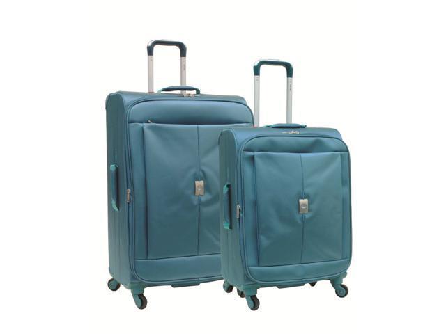 Delsey Helium Extreme Lite 2.0 Luggage 2-Piece Set - Blue Color
