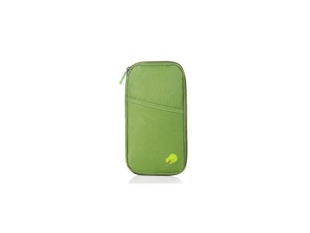 Passport Holder Wallet - Green Color