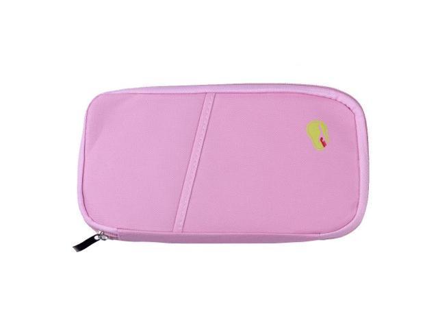 Passport Holder Wallet - Light Pink Color