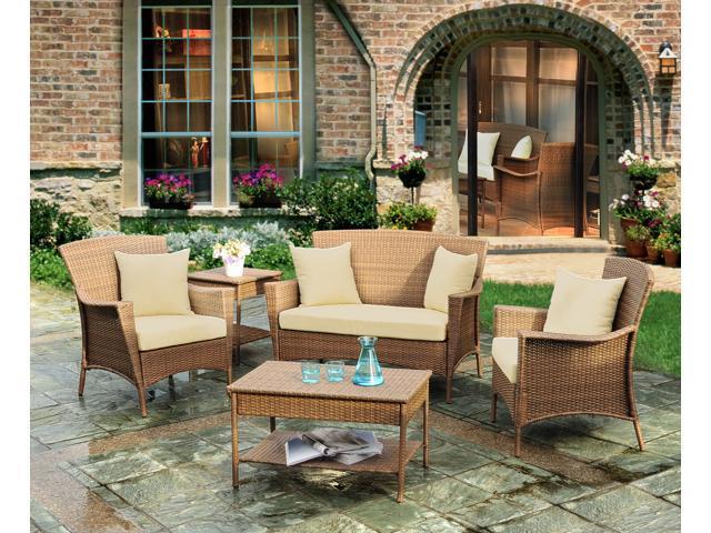 Outdoor and Indoor Furniture, Patio 5-Pieces Set