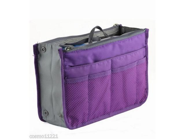 Bag in Bag Organizer - Purple Color