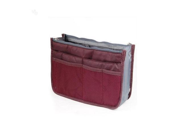 Bag in Bag Organizer - Wine Red Color