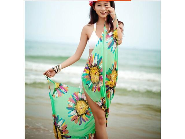 Summer Chiffon Bikini Dress