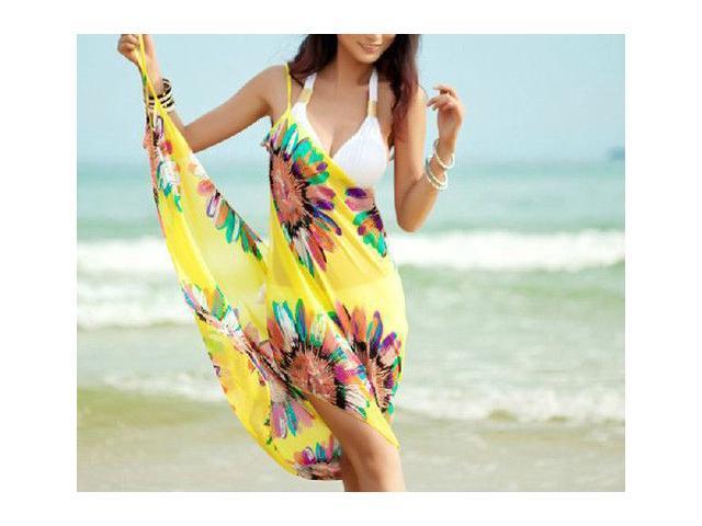 Summer Chiffon Bikini Dress
