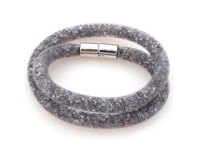 Sparkling Crystals Stardust Double Bracelet
