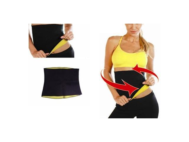 Sauna Heat Waist Trimmer for Men and Women (Size: XL)