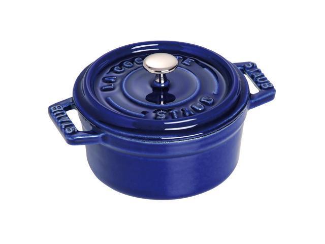 Staub Cast Iron Mini Round Cocotte, 0.25-quart