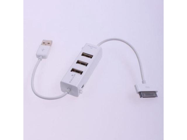 3 Port USB2.0 Hub Charger for Apple iPhone iPad iPod
