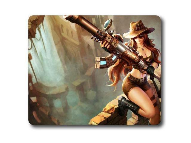 for League of Legends Caitlyn Safari Skin Gaming Mouse Pad ...