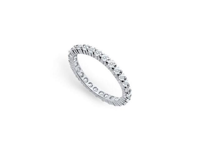 1ct. t.w. Platinum Diamond Eternity Band
