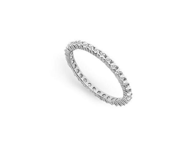 0.50 ct. t.w. Diamond Eternity Band in 18K White Gold