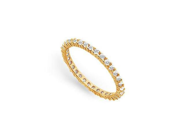 0.50 ct. t.w. Diamond Eternity Band in 18K Yellow Gold