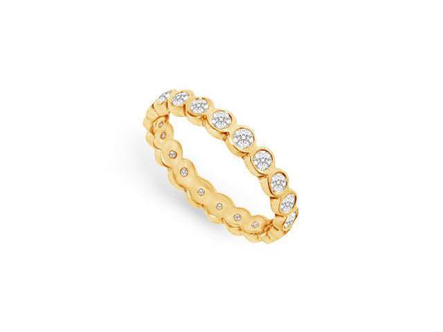 Diamond Eternity Band  18K Yellow Gold  1.00 CT Diamonds