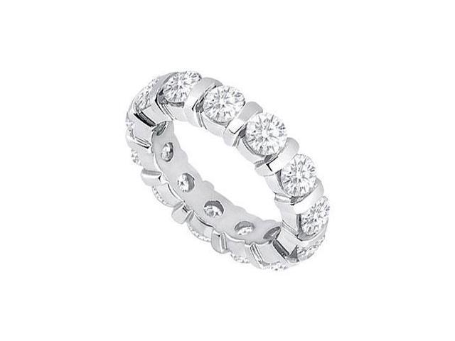 Platinum Diamond Eternity Band  4.00 CT Diamonds