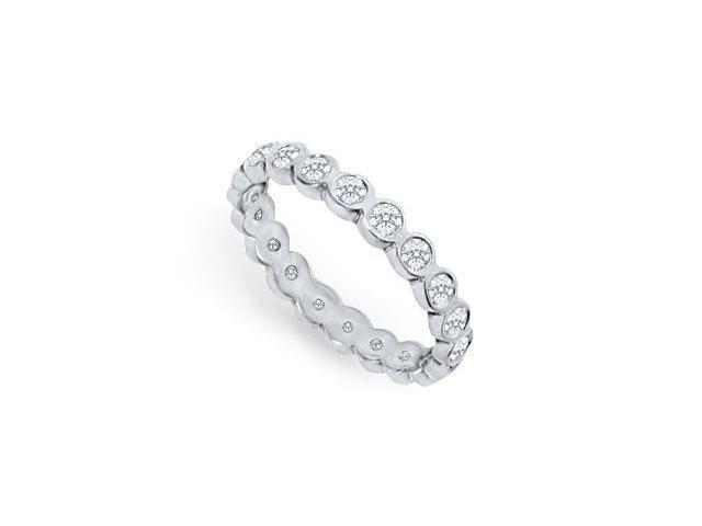 Platinum Diamond Eternity Band  1.00 CT Diamonds