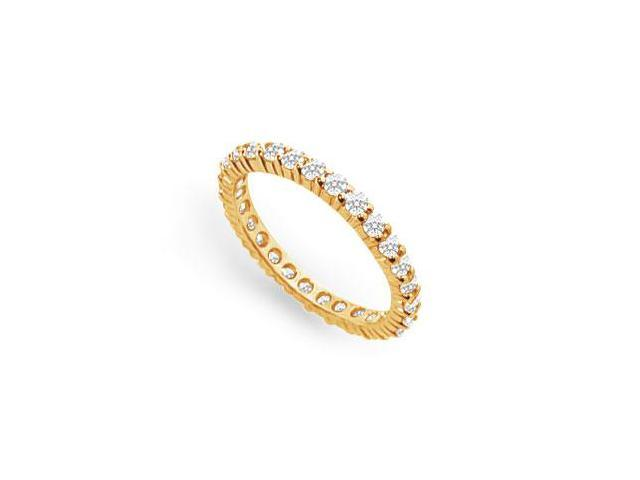 0.75 ct. t.w. Diamond Eternity Band in 14K Yellow Gold