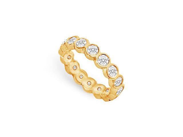 Diamond Eternity Band  14K Yellow Gold - 1.50 CT Diamonds