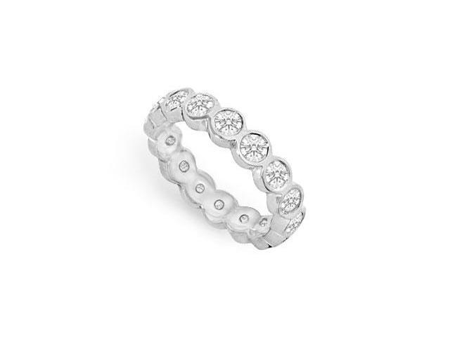 Diamond Eternity Band  18K White Gold - 1.50 CT Diamonds