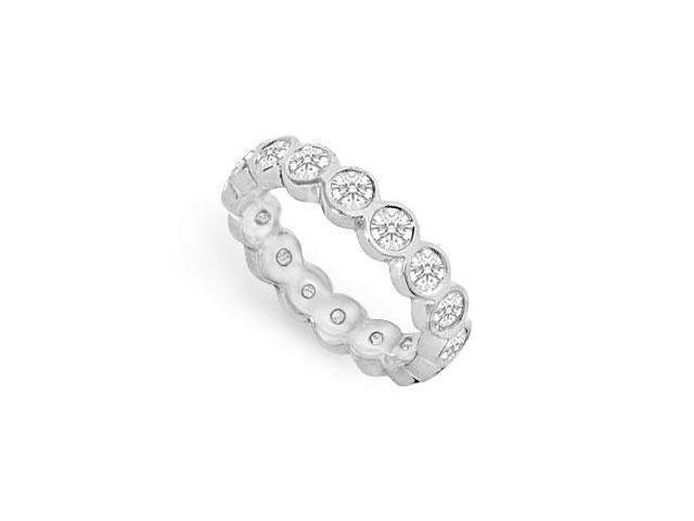 Diamond Eternity Band  18K White Gold - 1.50 CT Diamonds