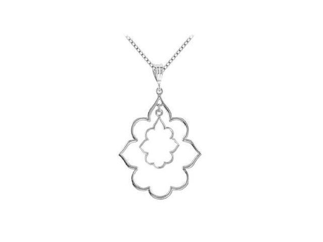 Decorative Pendant in .925 Sterling Silver 32.00X32.00 MM