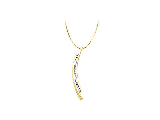 Diamond Fashion Pendant in 14kt Yellow Gold 0.33.ct.tdw