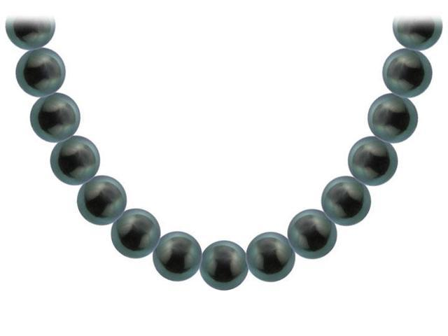Tahitian Pearl Necklace  18K White Gold  12.00 - 14.00 MM