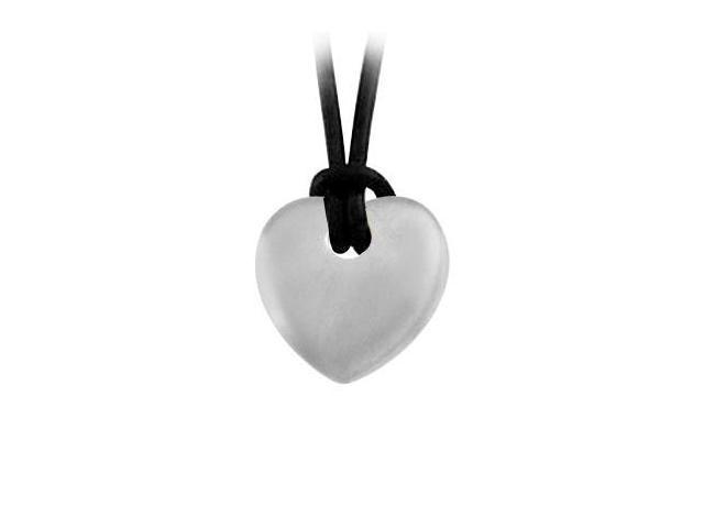 925 Sterling Silver Heart Shape Pendant