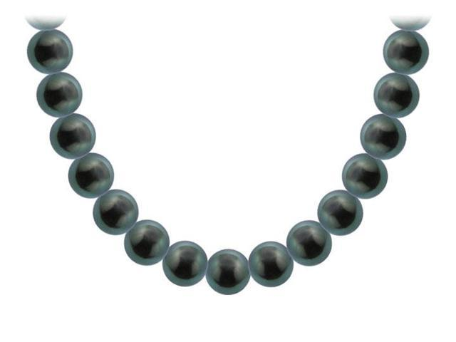 Tahitian Pearl Necklace  18K Yellow Gold  10.00 - 12.00 MM