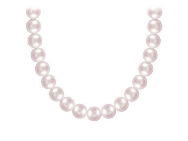 Freshwater Cultured Pearl Necklace  14K White Gold  5 MM