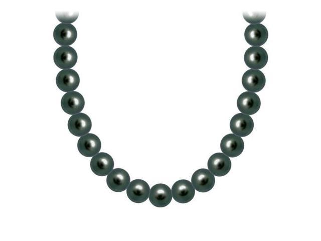Freshwater Cultured Pearl Necklace  14K White Gold  4 MM