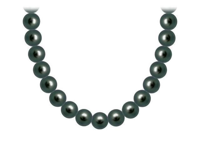 Freshwater Cultured Pearl Necklace  14K Yellow Gold  6 MM